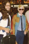 Heino, the most famous German singer and Wolfgang Ficker