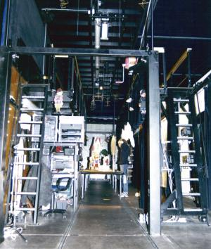 1st German Tour Augsburger Puppenkiste 1998/99 - The stage in funktion
